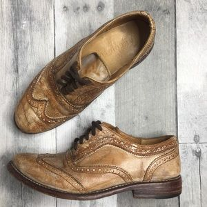 Bed Stu Lita Wingtip Oxford Cobbler Series Size 6